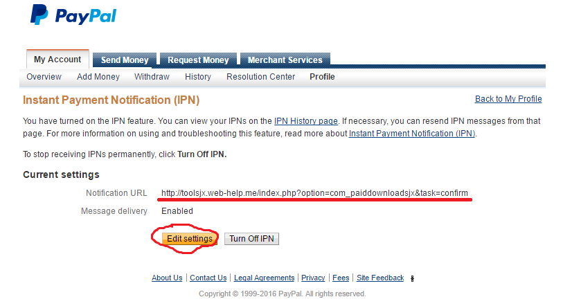 How to set up PayPal IPN?
